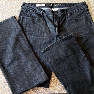 Banana Republic Boot Cut Black Denim Jeans